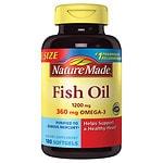 Nature Made Fish Oil, 1200mg, Liquid Softgels