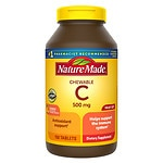 Nature Made Chewable Vitamin C, 500mg, Tablets- 150 ea