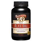 Barlean's Organic Oils Flax Oil 1000mg, Capsules- 250 ea