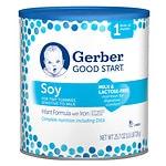 Gerber Good Start Soy Plus, Infant Formula, Powder, Birth+- 182 oz