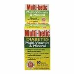 Multi-betic Multivitamin, Advanced Diabetic Formula, Caplets