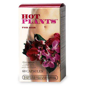 Hot Plants For Her, Capsules- 60 ea