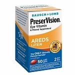 PreserVision Eye Vitamin and Mineral Supplement with AREDS Lutein, Softgels- 50 ea