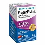 PreserVision Eye Vitamin and Mineral Supplement, with AREDS,