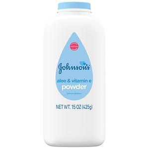 Johnsons Talc Powder