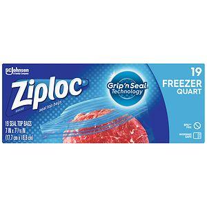 Ziploc Storage Bags Jumbo 2 Gallon Size Drugstore Com