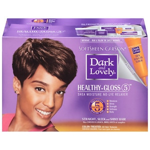 Dark and Lovely No-Lye Relaxer, For Color Treated Hair | drugstore.com