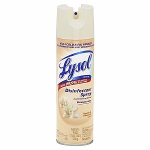 lysol disinfectant spray, vanilla & blossoms, 19 fl oz