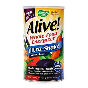 Alive Whole Food Energizer Shake Review