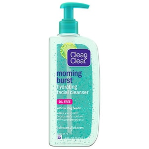 clean & clear morning burst hydrating gel